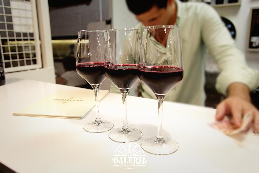 La vinoteca de Mercado La Galeria